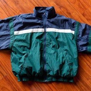 Vintage 80s B.I. GEAR Windbreaker Jacket